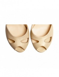 Sandale dama The 70's Light Gold Piele Naturala - The5thelement.ro