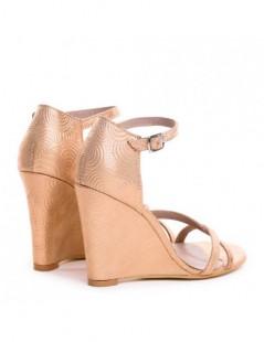 Sandale dama AURIU ROSE Baroc Julia Piele Naturala - The5thelement.ro