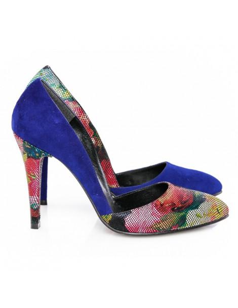 Pantofi dama stiletto Blue...