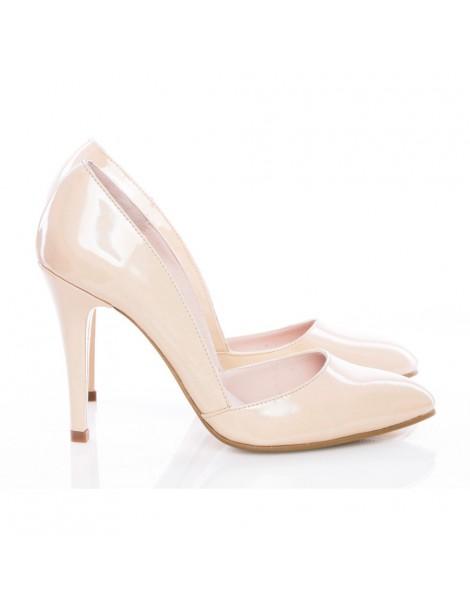 Pantofi dama stiletto Nude...