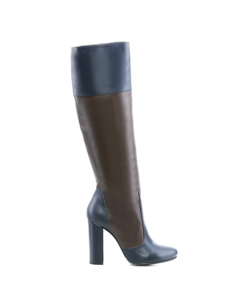 Cizme dama Long Boots Brown...