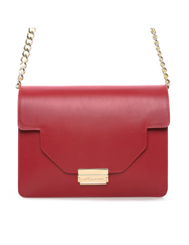 Geanta dama Piele Naturala Red Love - The5thelement.ro