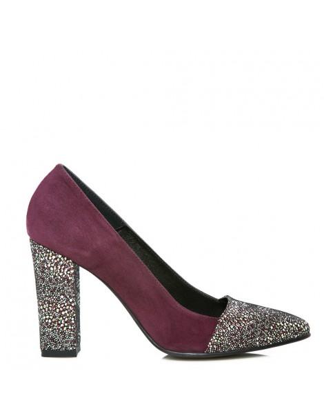 Pantofi dama Colour Marsala...