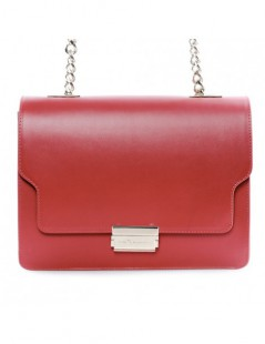 Geanta dama Piele Naturala Simple Red - The5thelement.ro