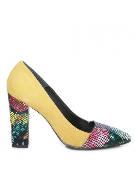 Pantofi dama Yellow Flowers...