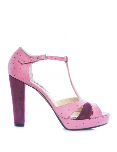 Sandale dama Candy Marsala...