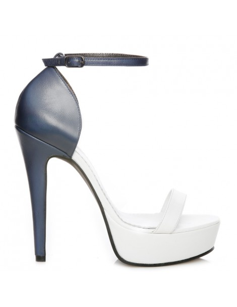 Sandale dama Disco White...