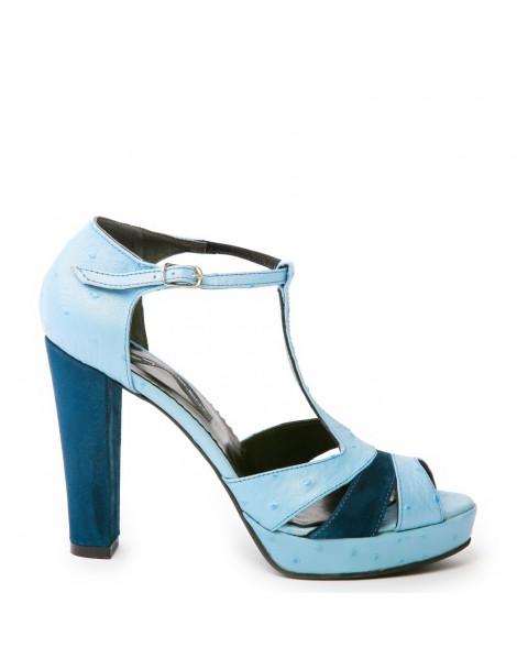 Sandale dama Candy Blue...