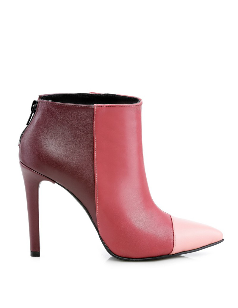 Botine dama Piele Naturala Emotion Ankle Boots - The5thelement.ro