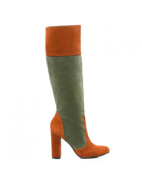Cizme dama Long Boots Khaki...