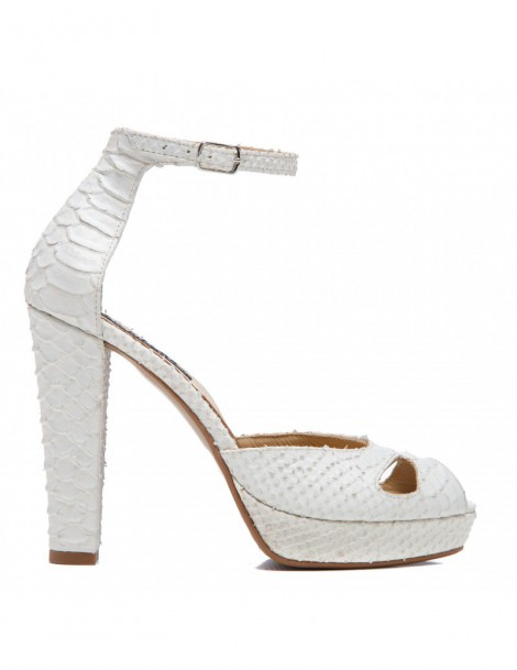 Sandale dama The 70's White...