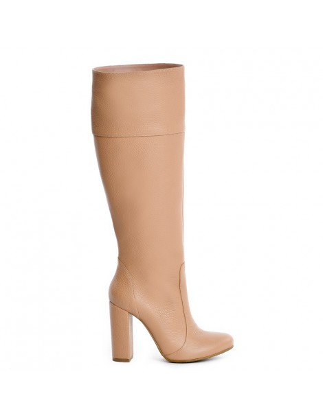 Cizme dama Long Boots Nude...