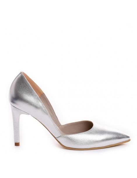 Pantofi Stiletto Piele...