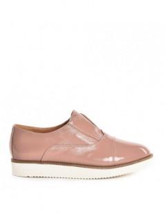 Pantofi dama Sport Nude din Piele Naturala - The5thelement.ro
