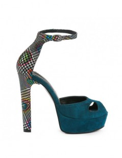 Sandale dama The 70's Colour Piele Naturala - The5thelement.ro