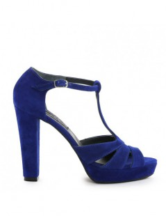 Sandale dama Candy Blue Electric Piele Naturala - The5thelement.ro