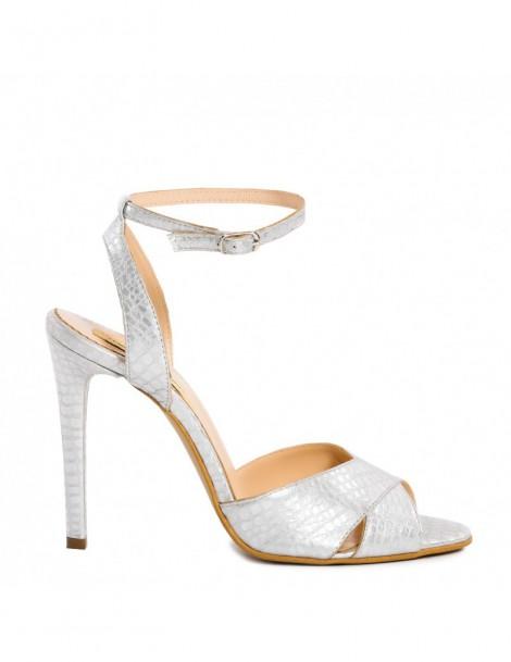 Sandale dama Keira Silver...