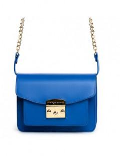 Geanta Dama Piele Naturala URBAN Electric Blue - The5thelement.ro