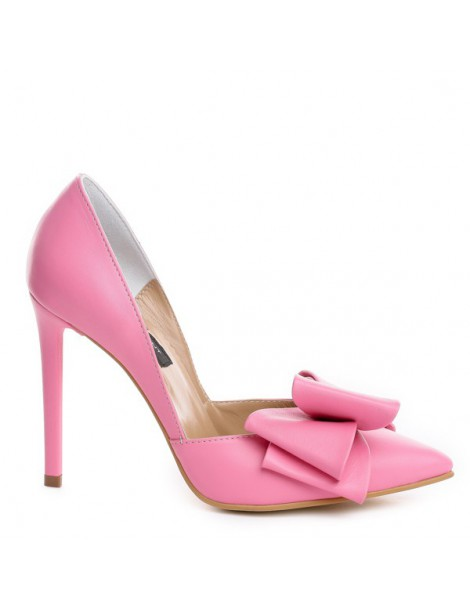 Pantofi dama Stiletto Roz...