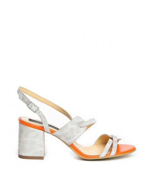 Sandale dama Darling White...