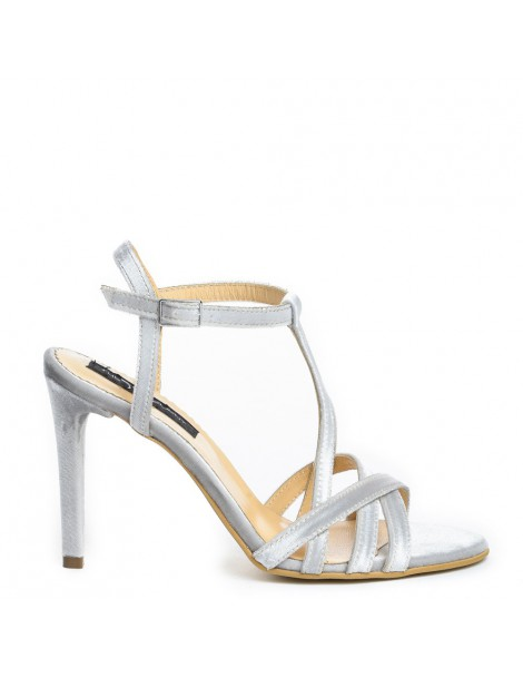 Sandale dama Eve Silver...