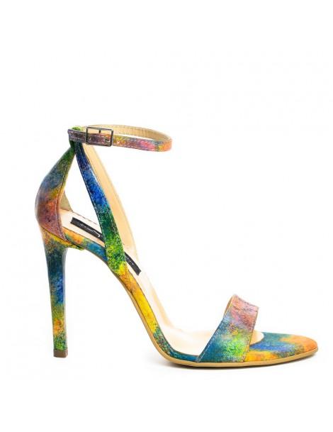 Sandale dama Simple Rainbow...