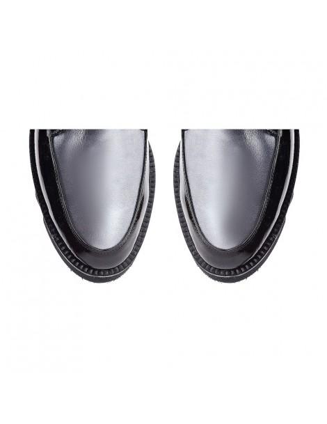Pantofi dama Sport Black din Piele Naturala - The5thelement.ro