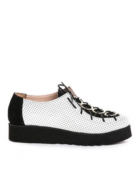Pantofi dama Eclipse White...