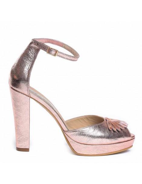 Sandale dama The 70's Auriu...