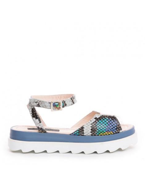 Sandale dama Bleu TETRIS...