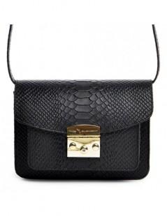Geanta Piele Naturala Dama Urban Bag Black Snake - The5thelement.ro