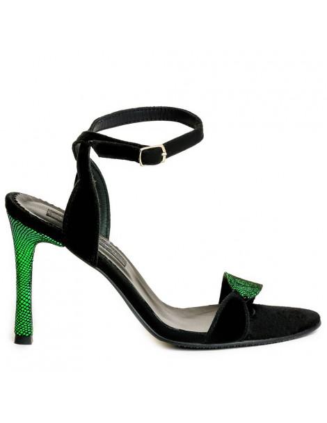 Sandale dama Negru Tulip...