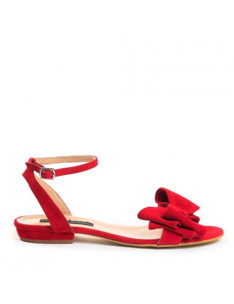 Sandale dama Simple Rosu...