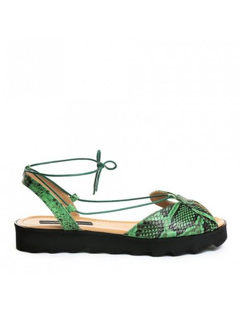 Sandale dama Bunny Verde...