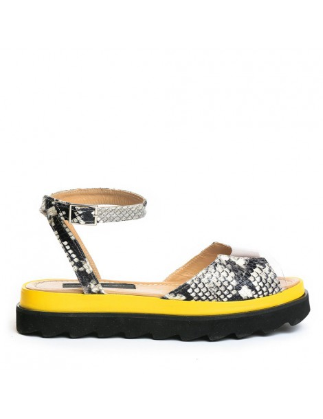 Sandale dama Gri Snake...