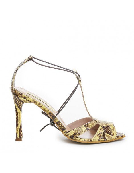 Sandale dama Galben Cinema...