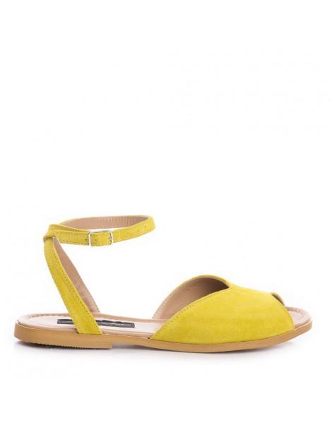 Sandale dama Galben lime...