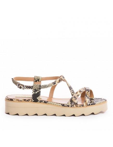 Sandale dama Khaki Snake...