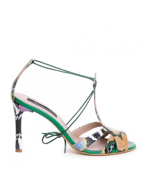 Sandale dama Verde Cinema...