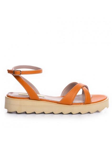 Sandale dama Portocaliu...