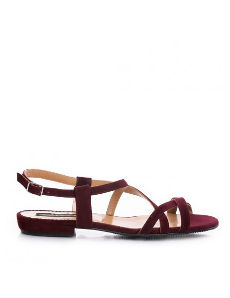 Sandale dama marsala...