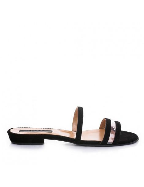 Papuci dama Negru Emma...