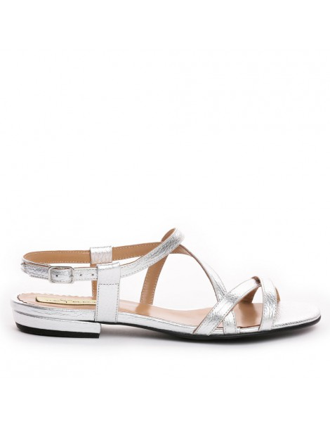 Sandale dama Argintiu...