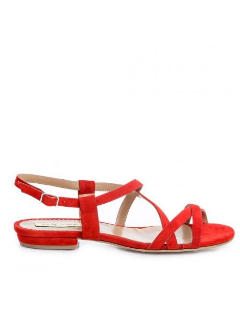 Sandale dama Rosu Georgie...