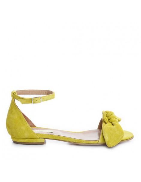 Sandale dama Galben Zoe...
