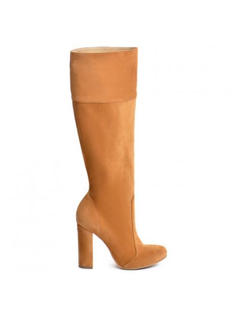 Cizme dama Long Boots Crem...