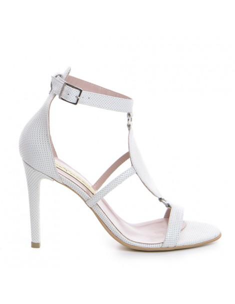 Sandale dama Vogue Alb...