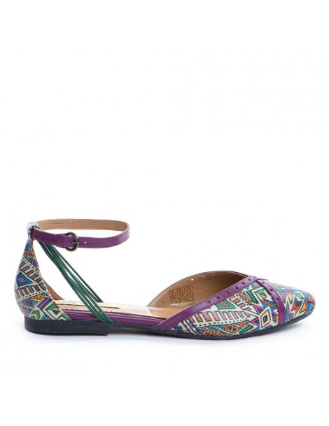 Balerini dama Multicolor...