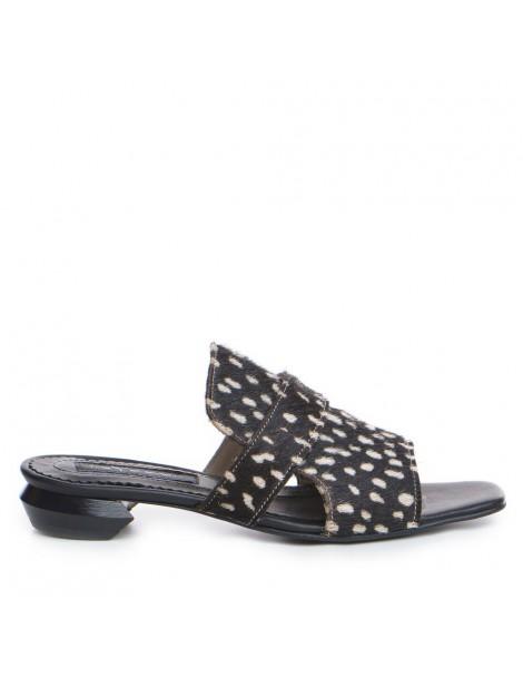 Papuci dama Negru Tess...