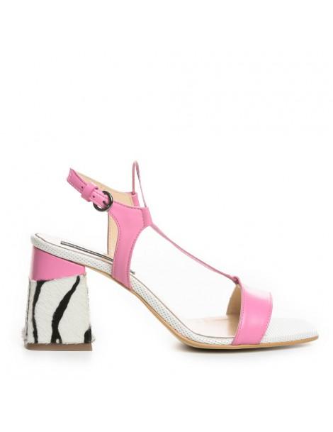 Sandale dama Alb Tanya...